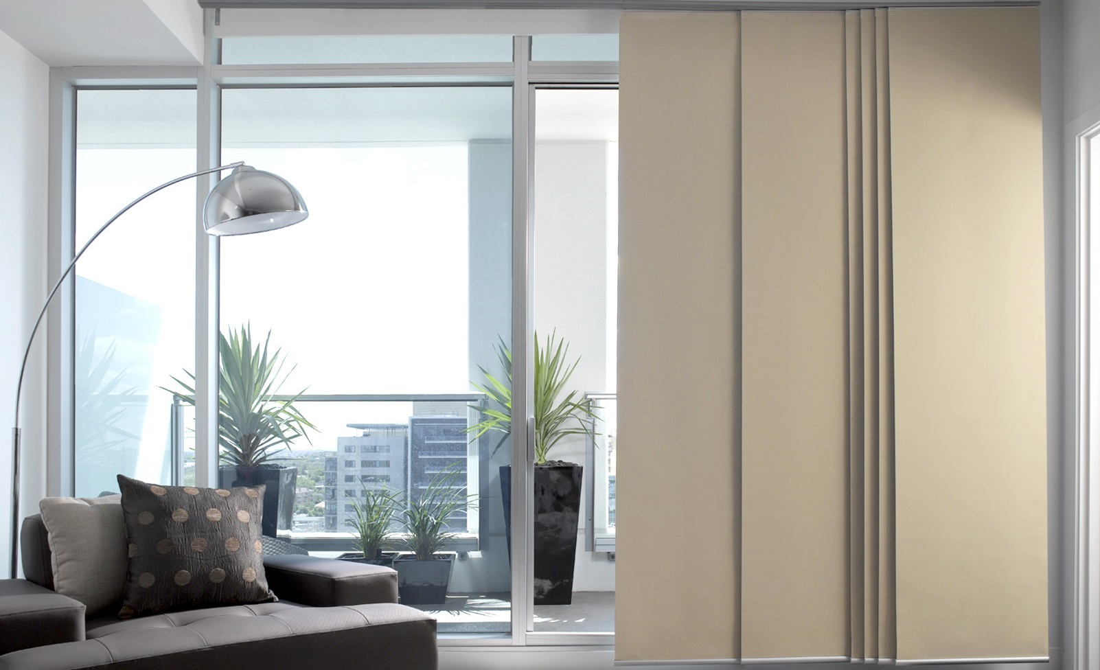 Made To Measure Panel Blinds At Spotlight