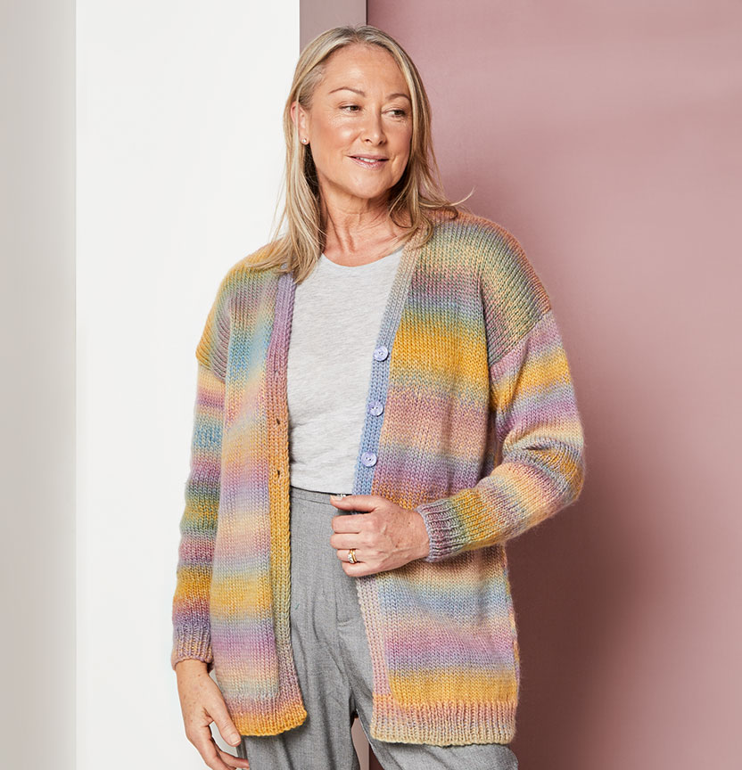 Malibu Oversized Cardi Project