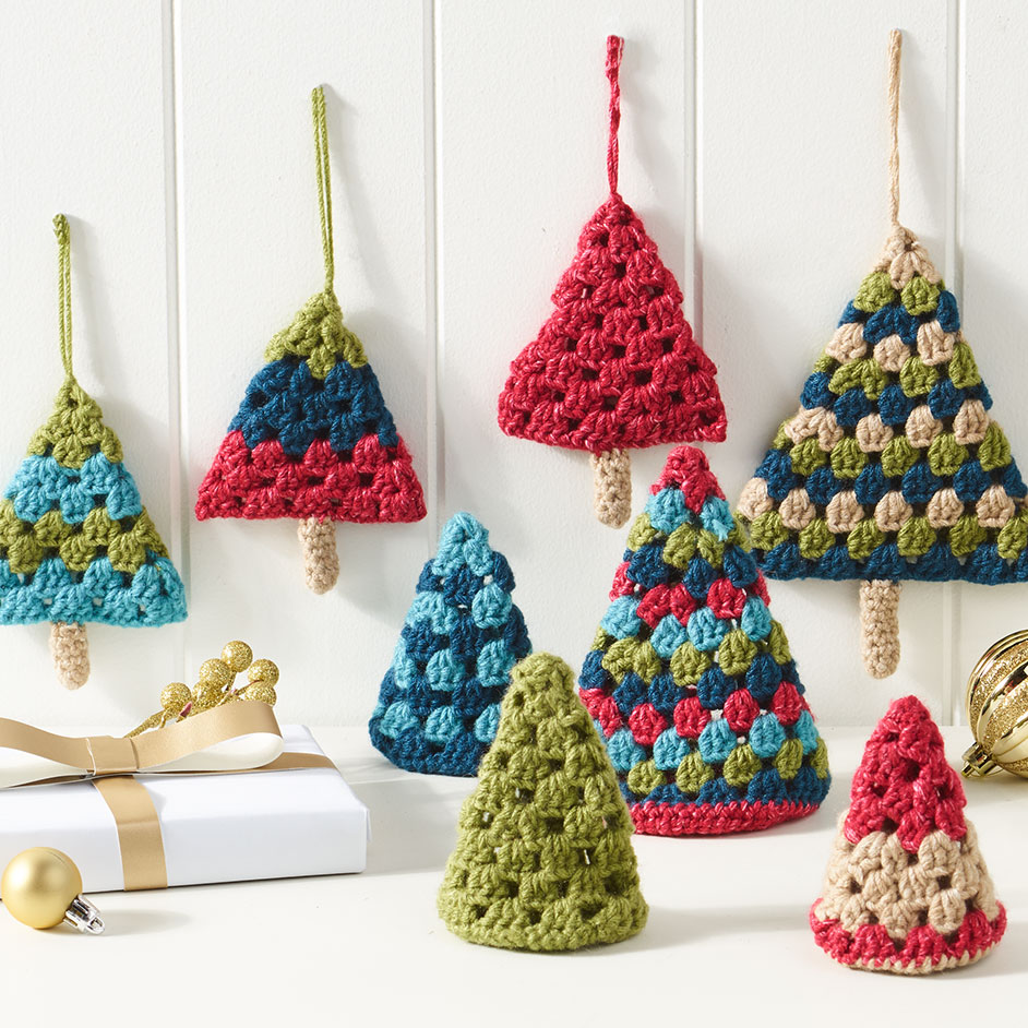 Marvel 12ply Retro Christmas Trees Project
