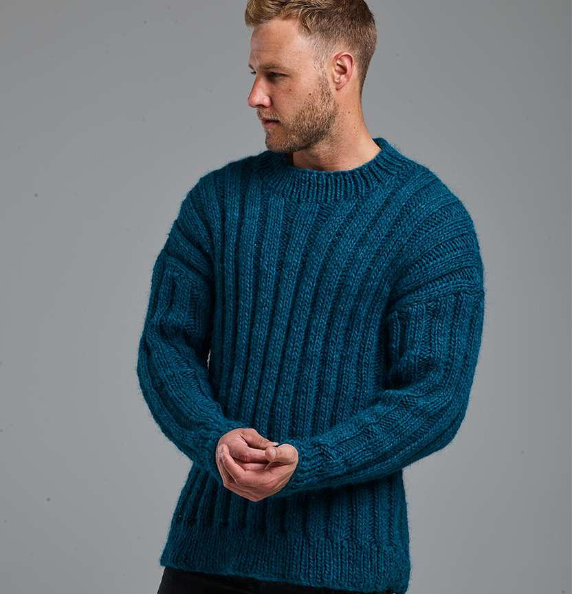 Mawson Man's Jumper Project