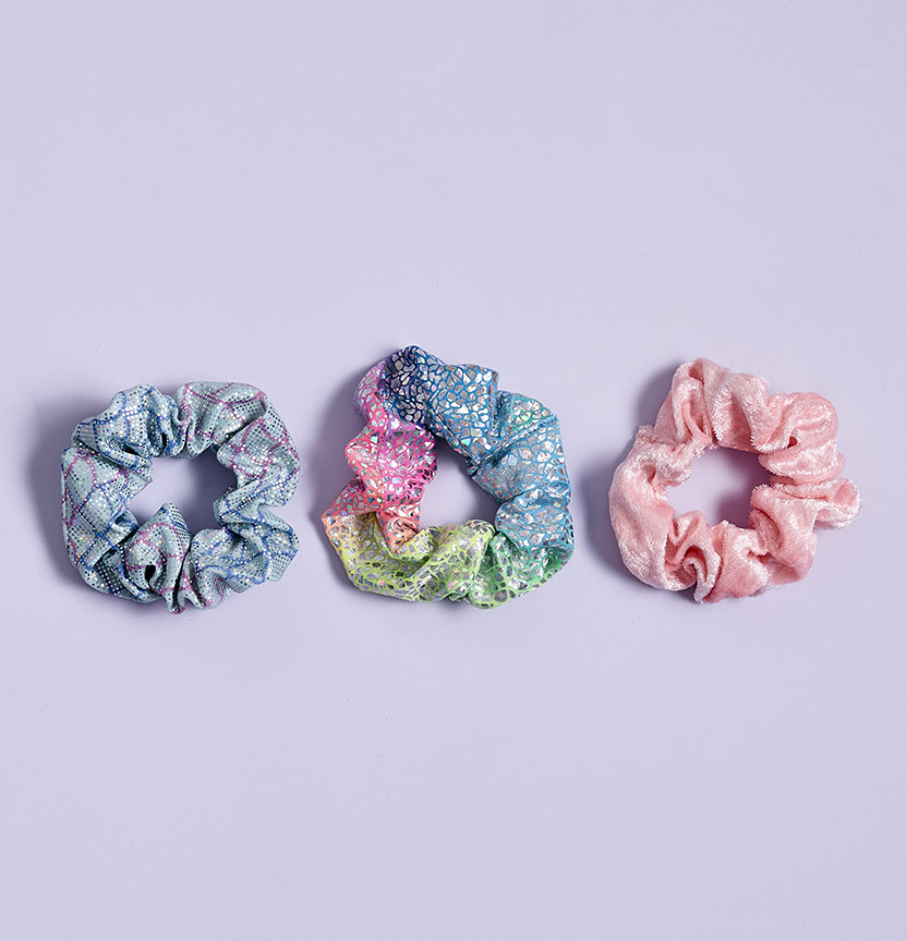 Mermaid Scrunchies Project