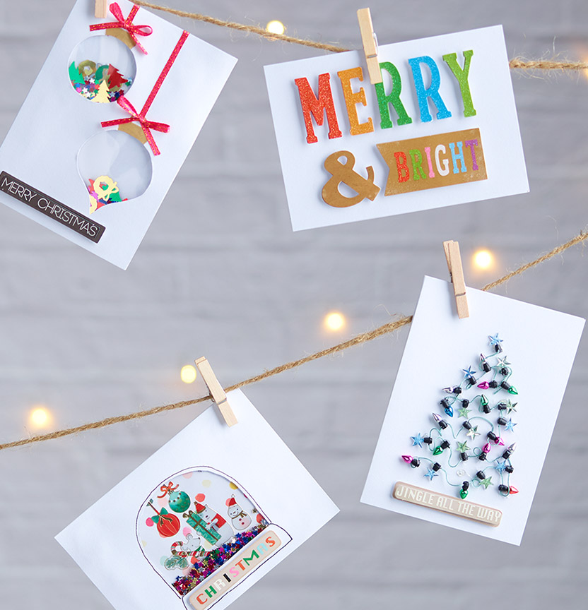 Merry & Bright Cards Project
