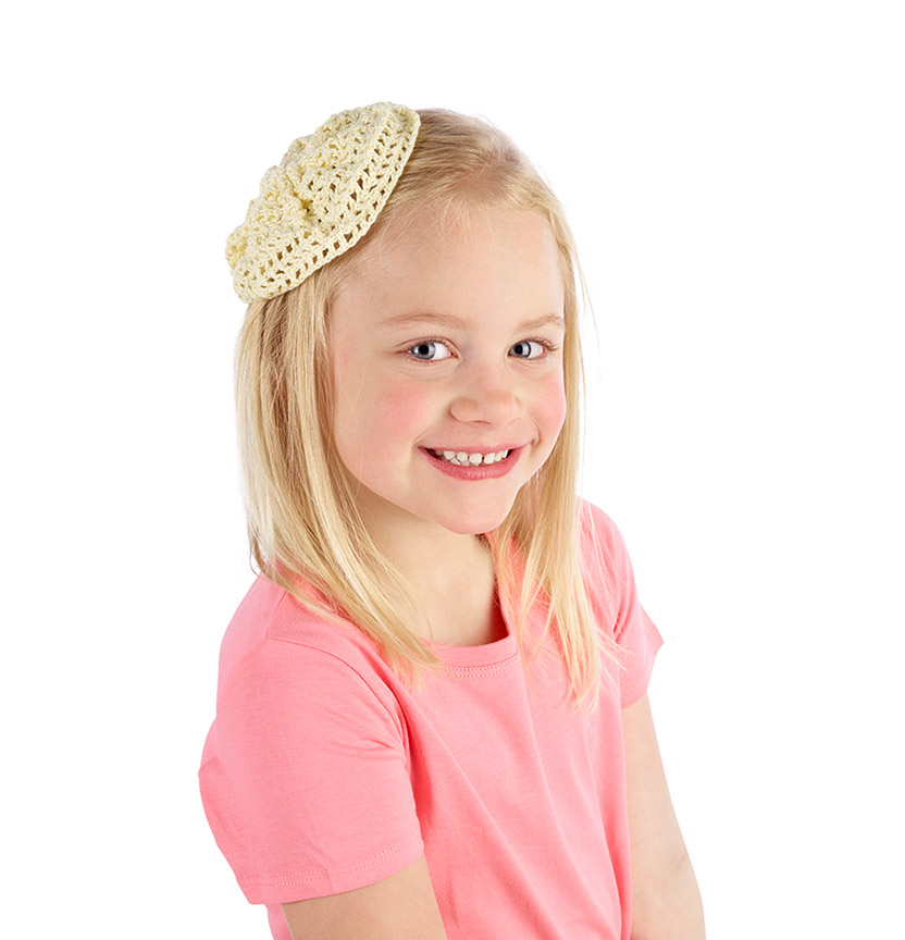 Milford Crochet Hair Accessory Project