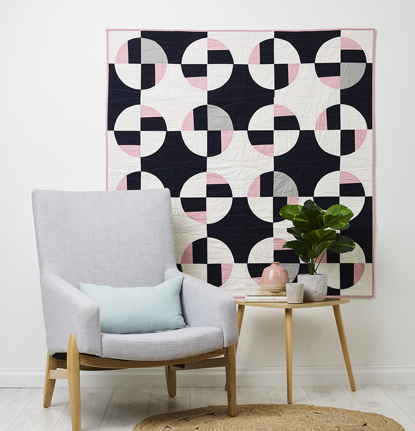 Modern Circle Quilt Project