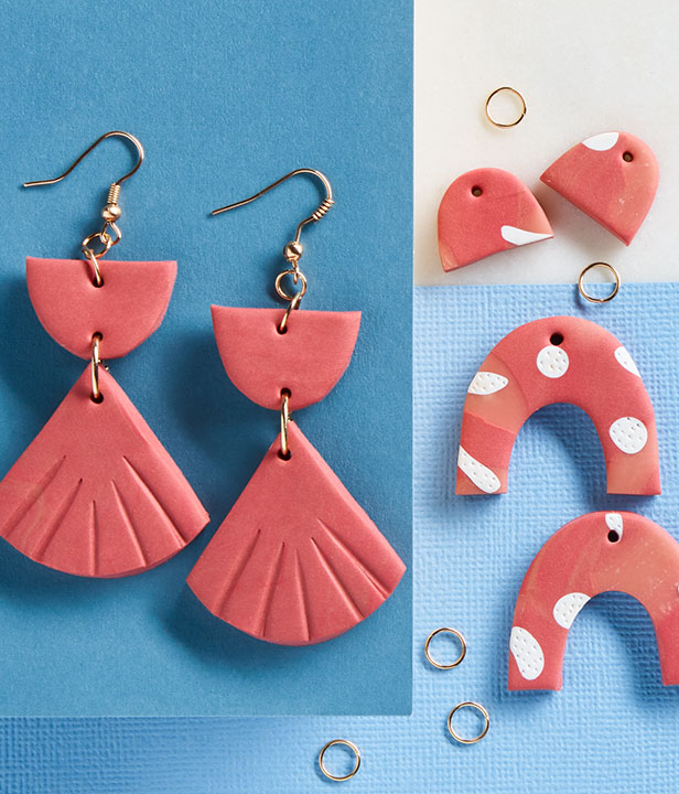 Mother's Day Sculpey Earrings