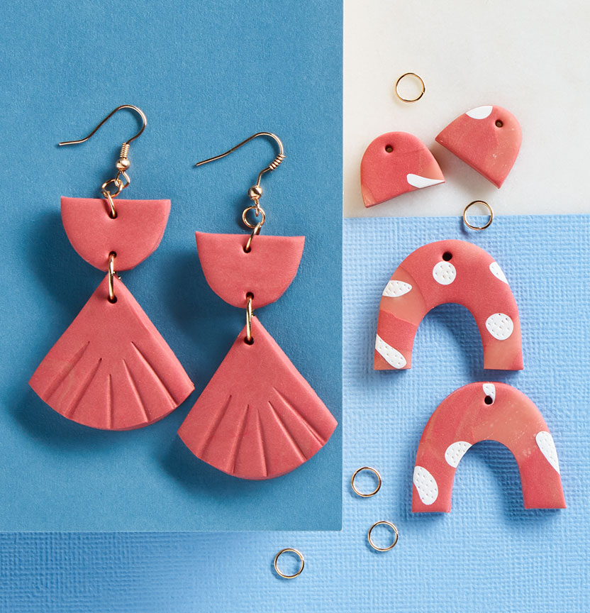 Mothers Day Sculpey Earrings