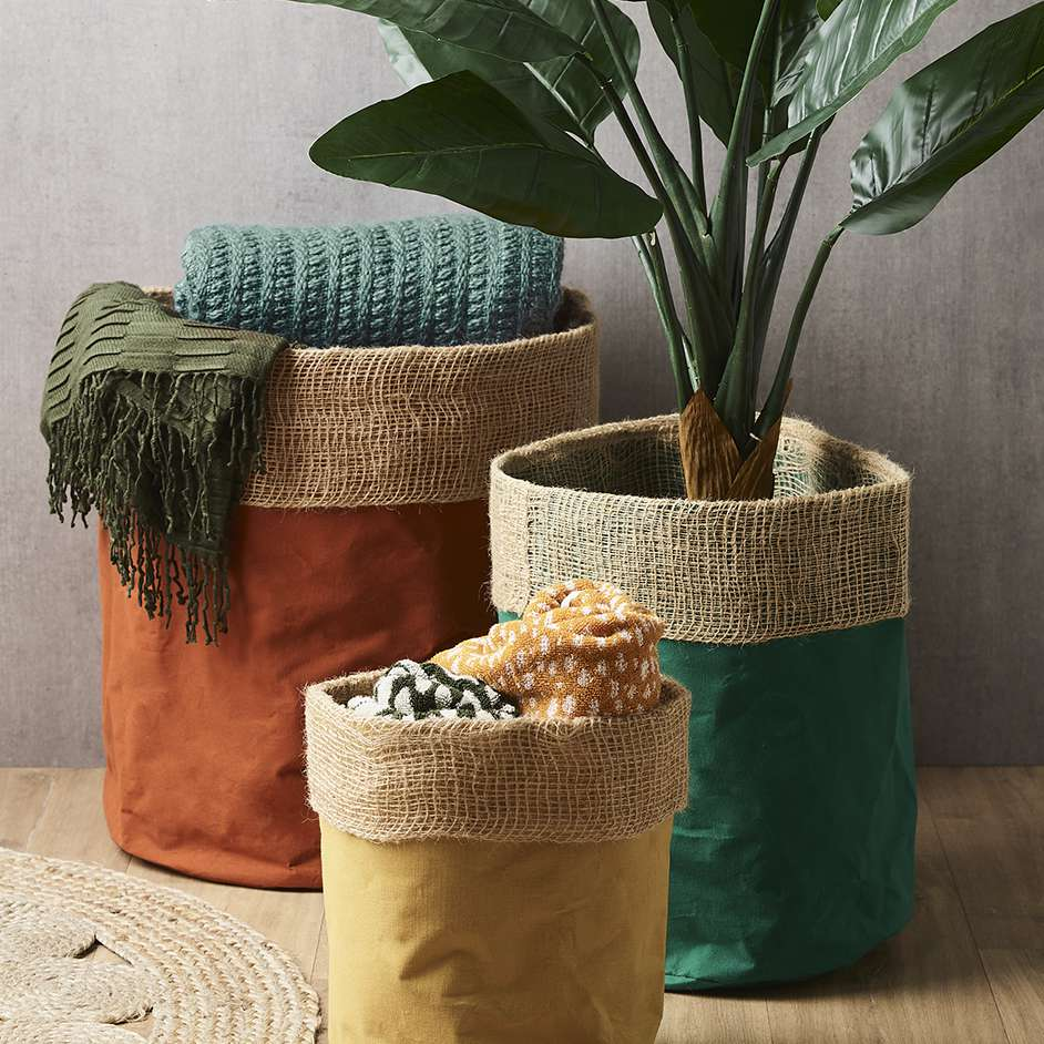 Multi Purpose Fabric Bucket Project