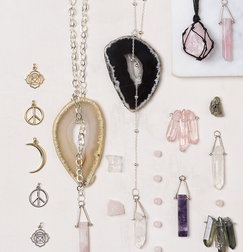 Mystic Crystal Agate Necklaces Project