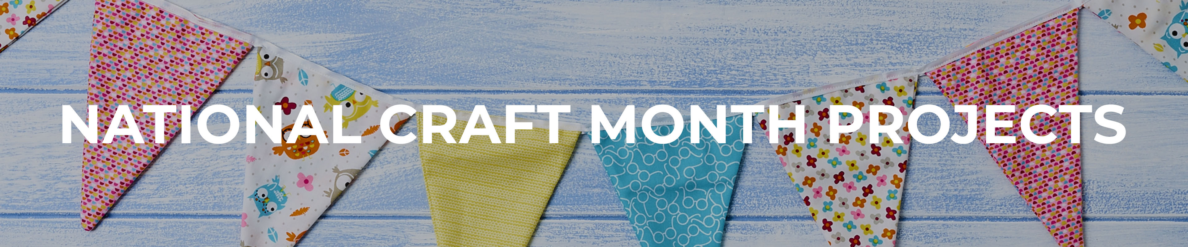 National Craft Month Projects