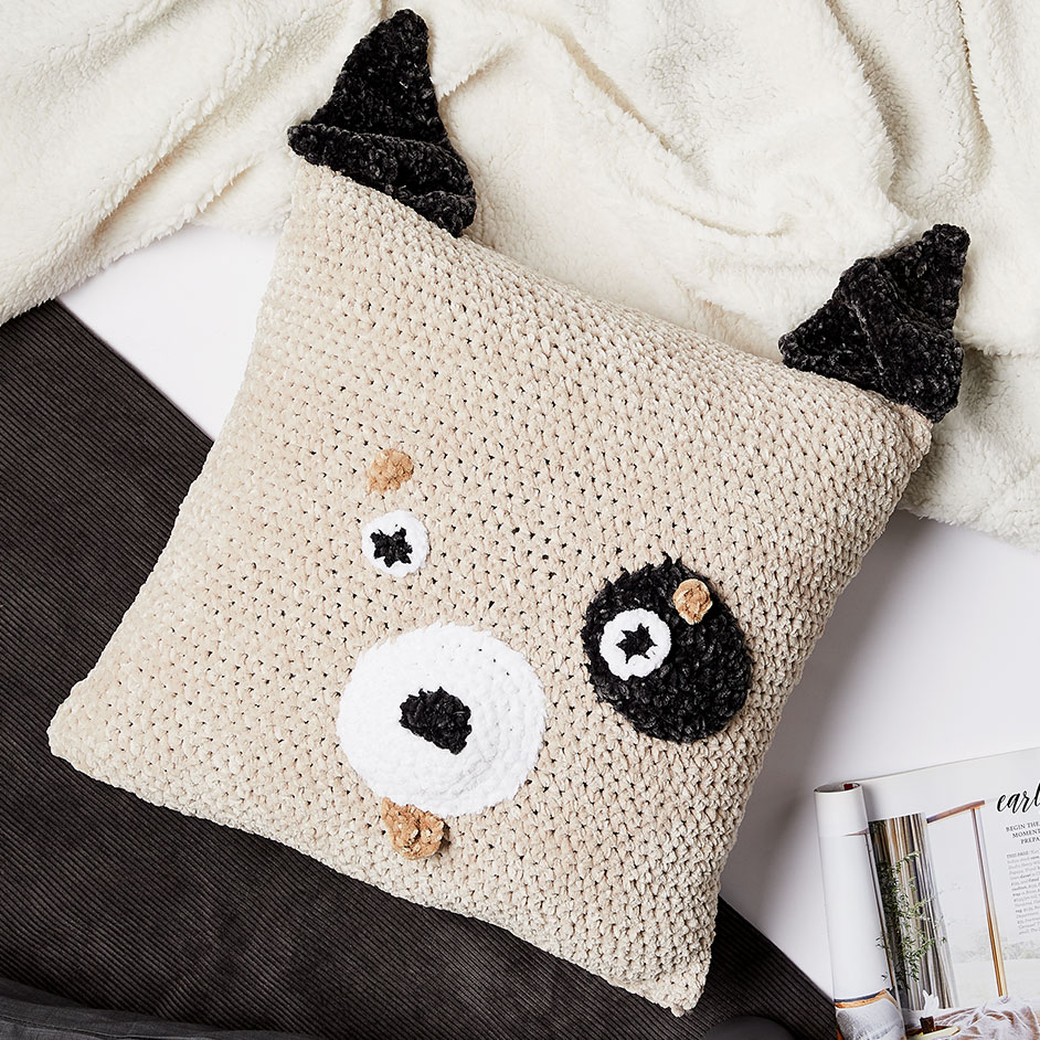 Nippers Dog Cushion Project