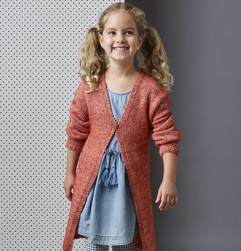 Northcote Cotton Kids Cardi Project