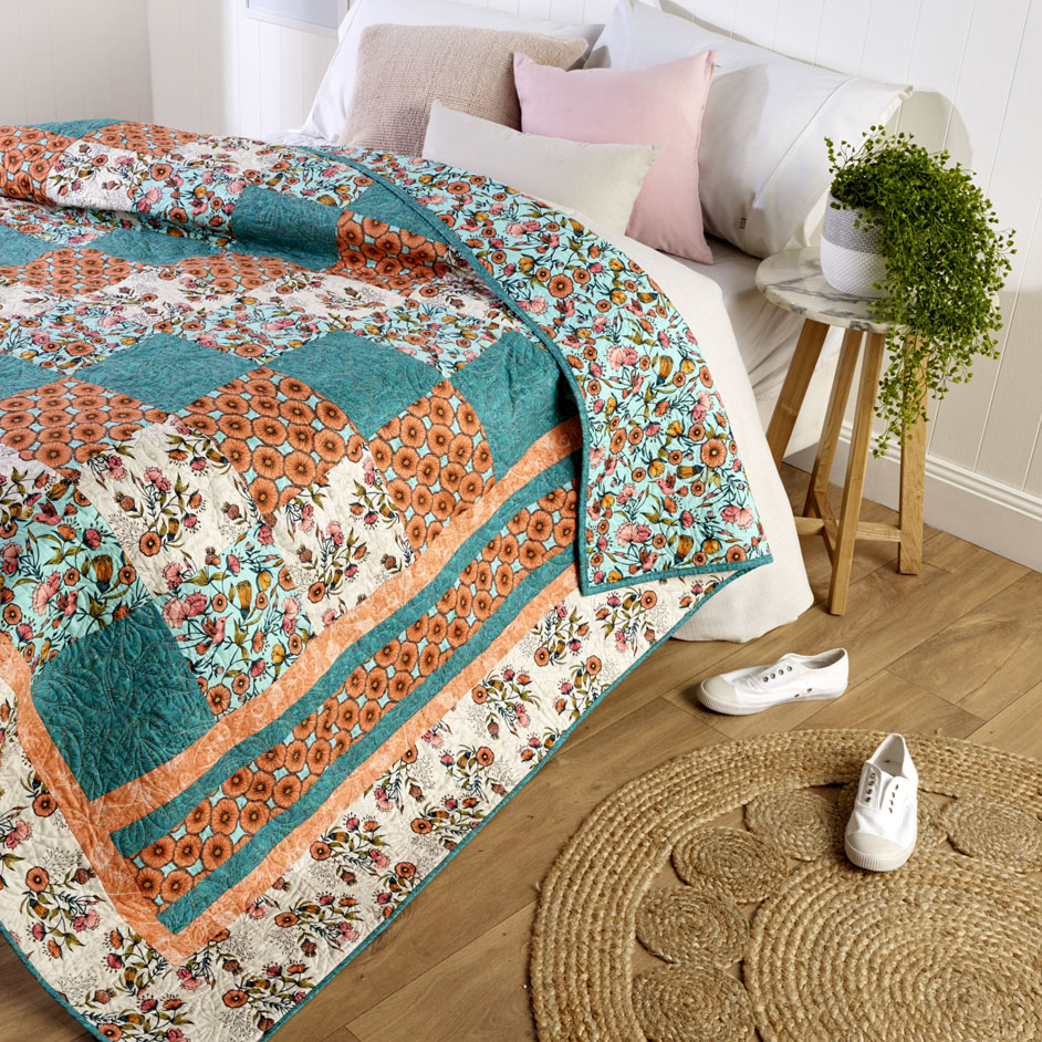 Nouveau Meadow Quilt Project