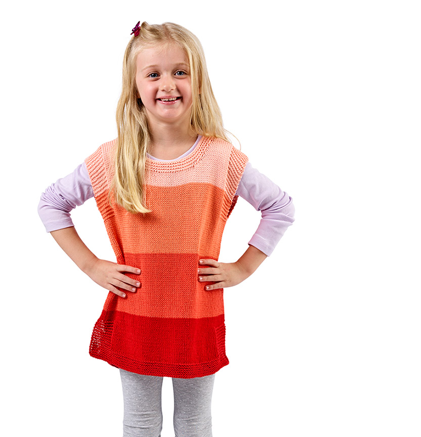 Ombre Delights Kids Singlet Project