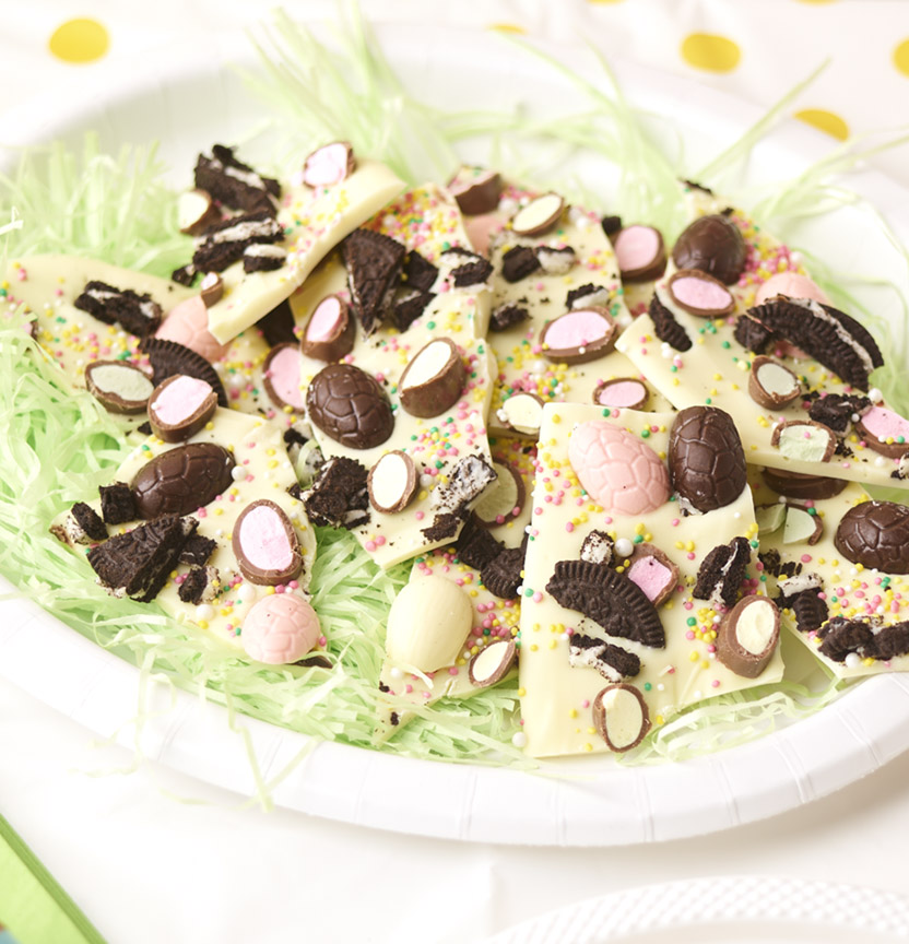 Oreo Easter Bark Project
