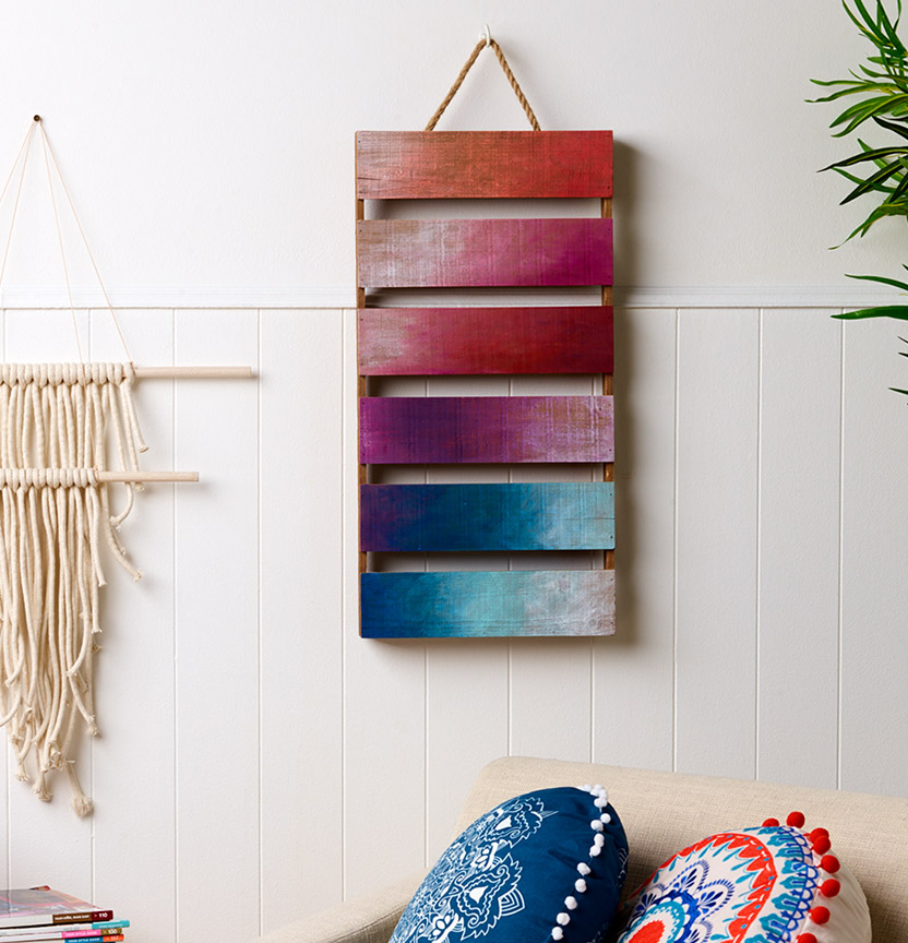 Painted Wooden Pallet Project