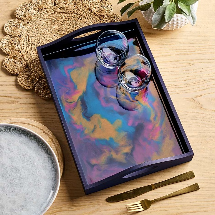 Pebeo Marbled Resin Tray