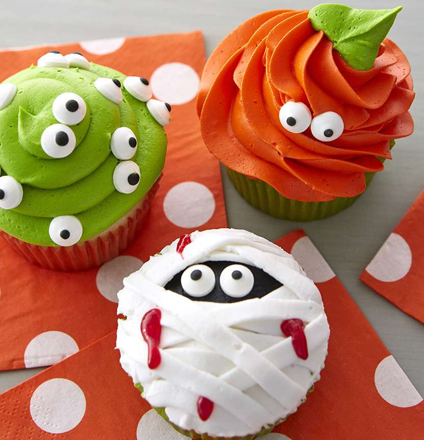 Peek A Boo Cupcakes Project