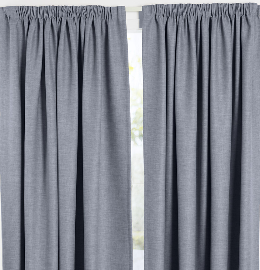 Pencil Pleat Curtain Project