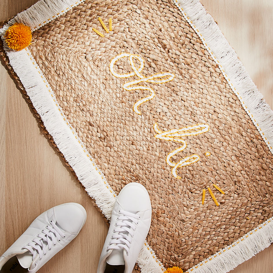 Personalised Door Mat Project