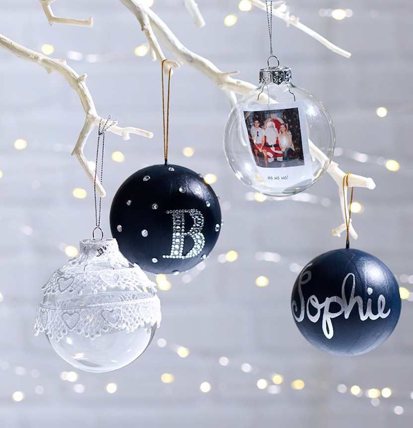 Personalised Tree Decorations Project