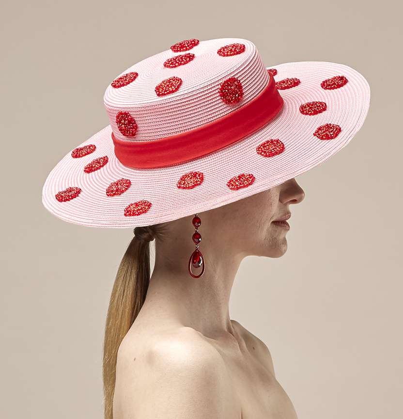 Pink Spotty Hat Project