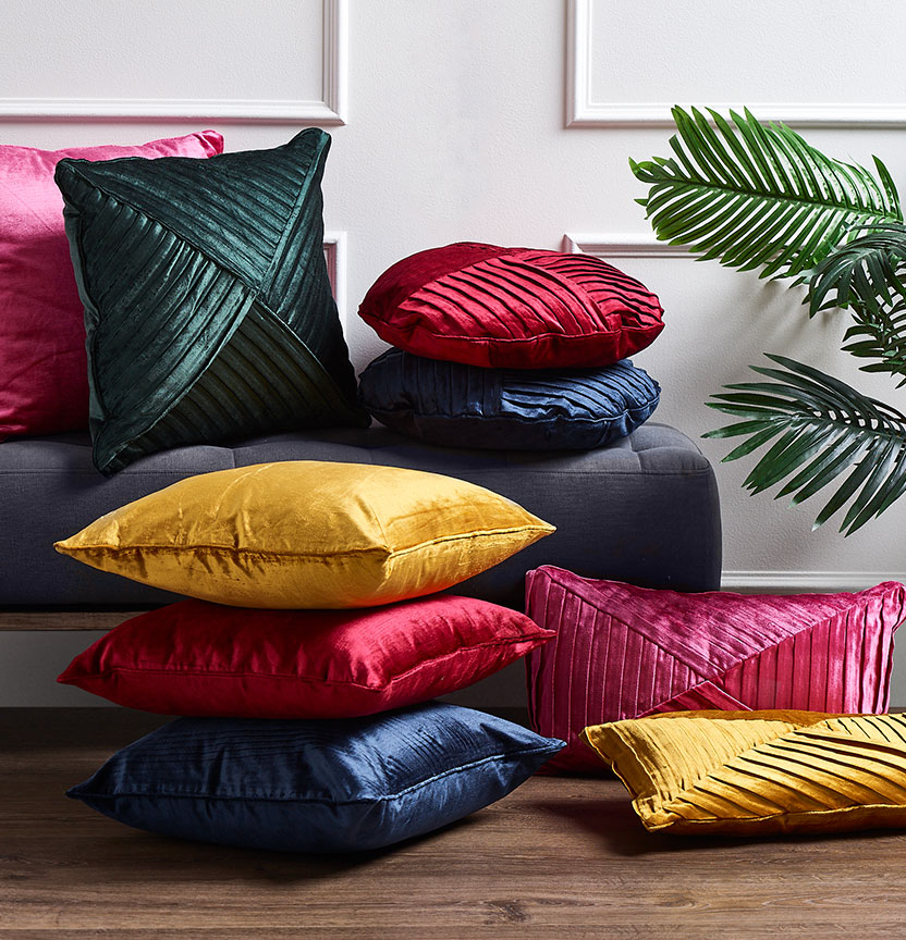 Pleated Cushions Project