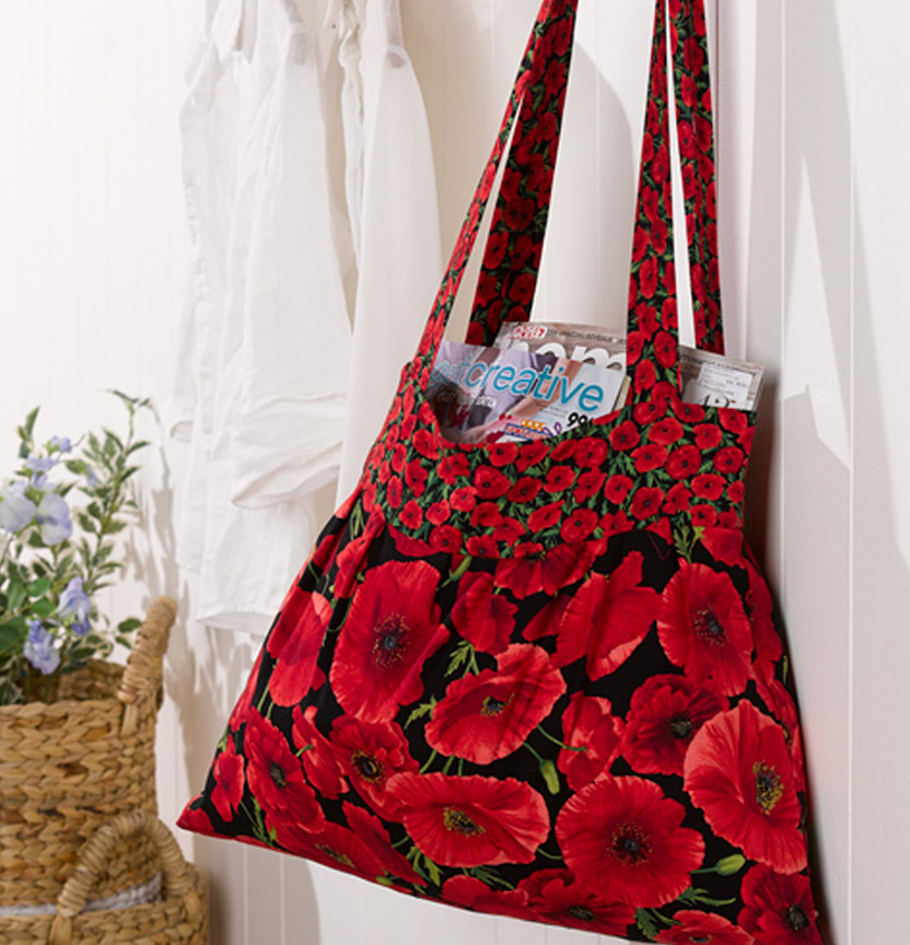 Poppy Tote Bag Project