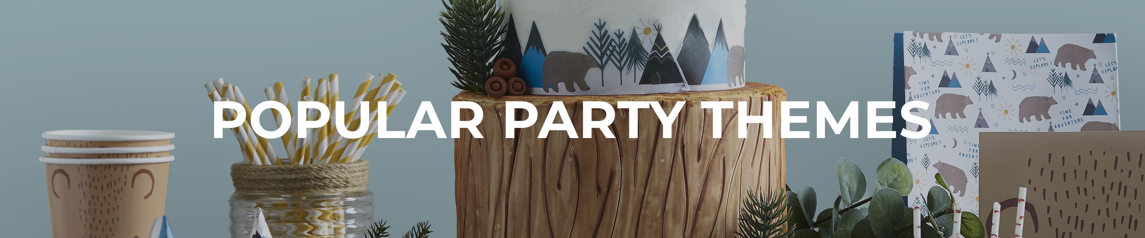Shop Our Popular Party Themes Range