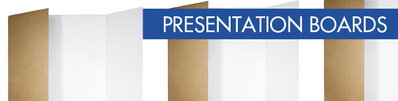 Shop with Spotlight for Presentation Boards