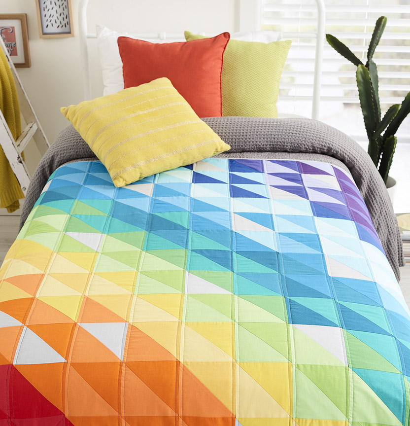Prima Rainbow Quilt Project