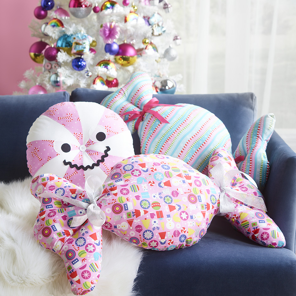Quilted Lolly Cushions Project