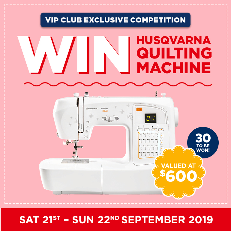 Quilting Competition At Spotlight