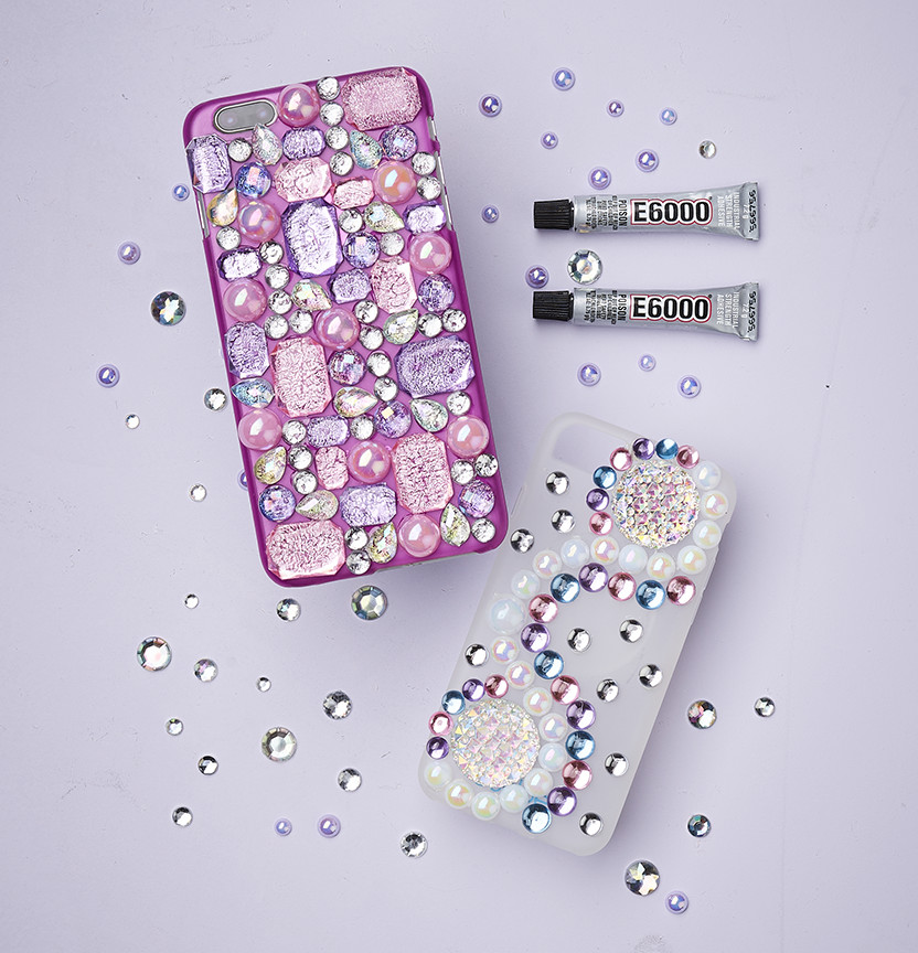Rhinestone Phone Case Project