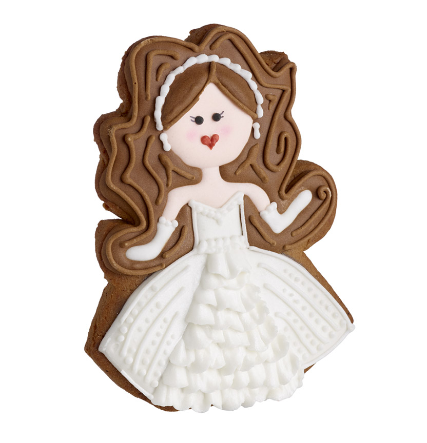 Royal Wedding Gingerbread Bride Project