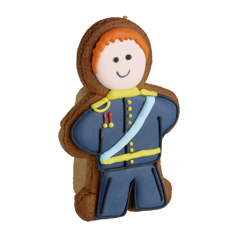 Royal Wedding Gingerbread Prince Project