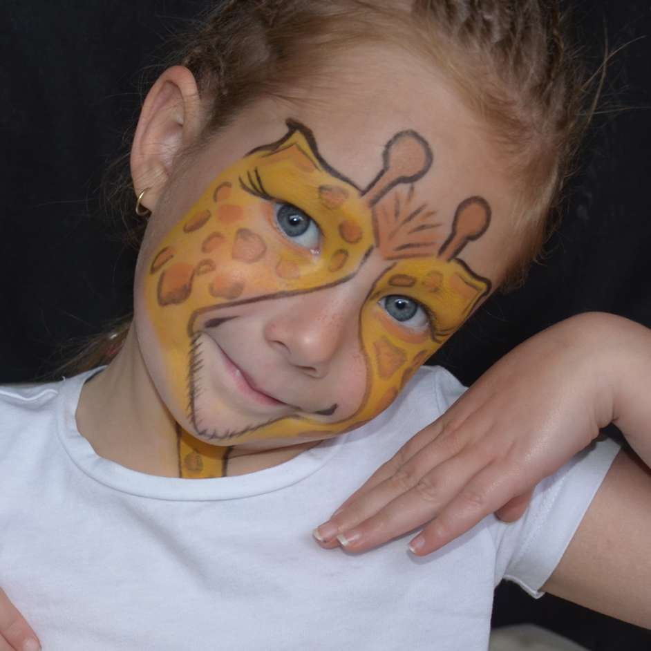 Safari Face Paint Project