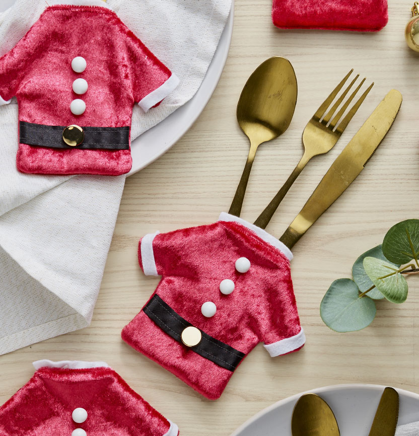 Santa Cutlery Holders Project