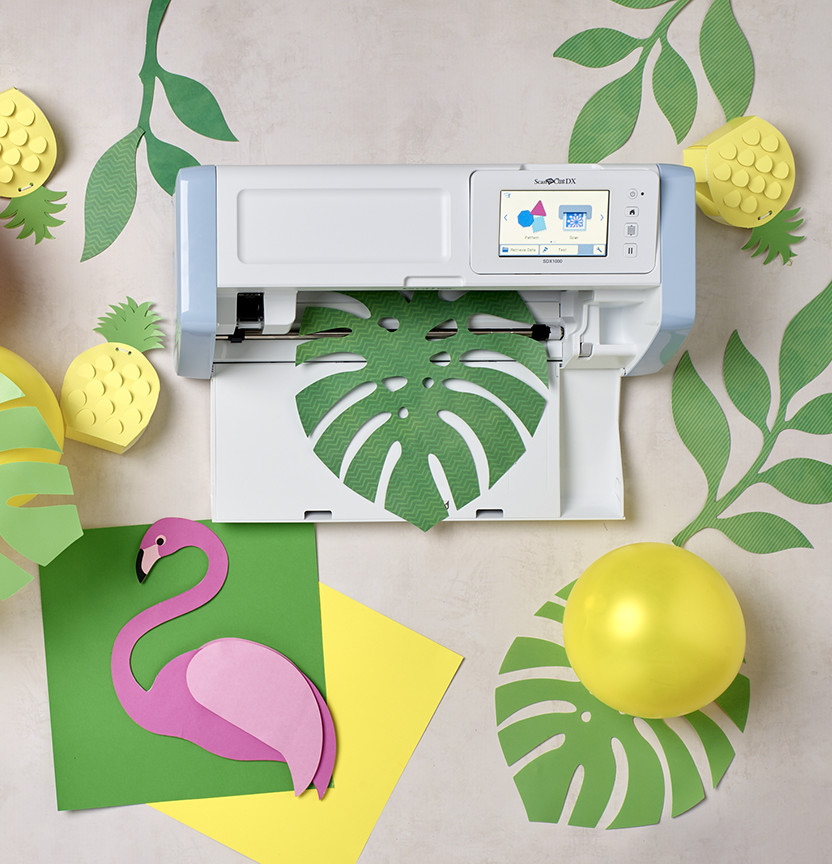 Scan N Cut Tropical Garland Project