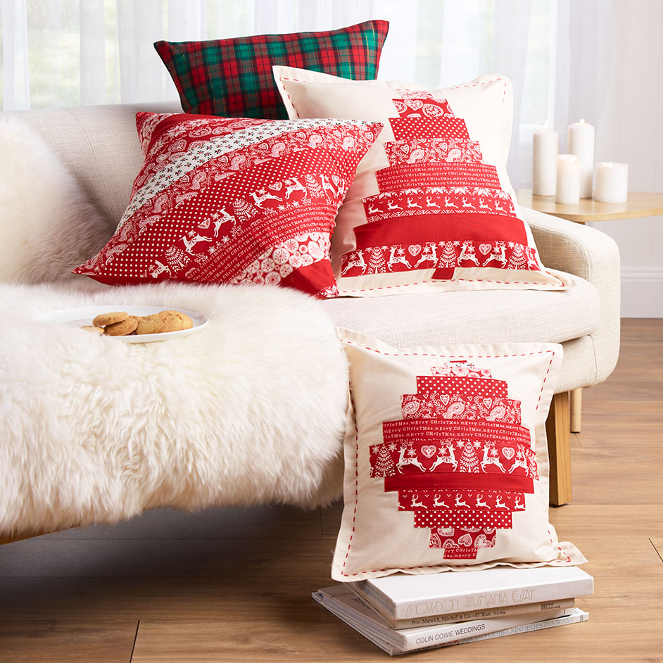 Scandi Jelly Roll & Check Cushions Project