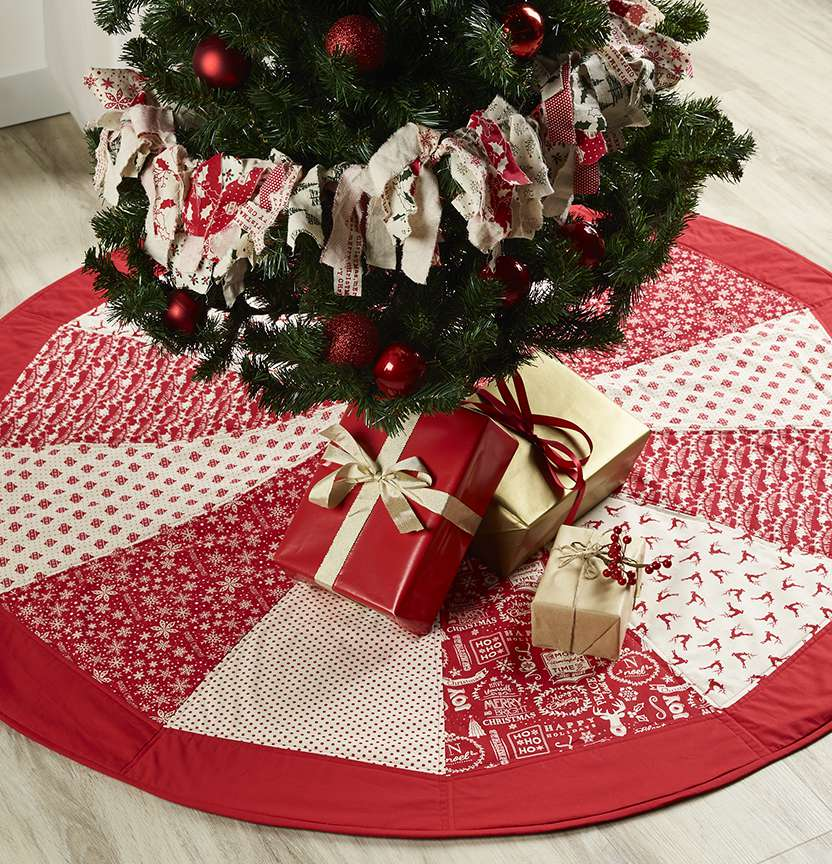 Scandi Tree Skirt Project
