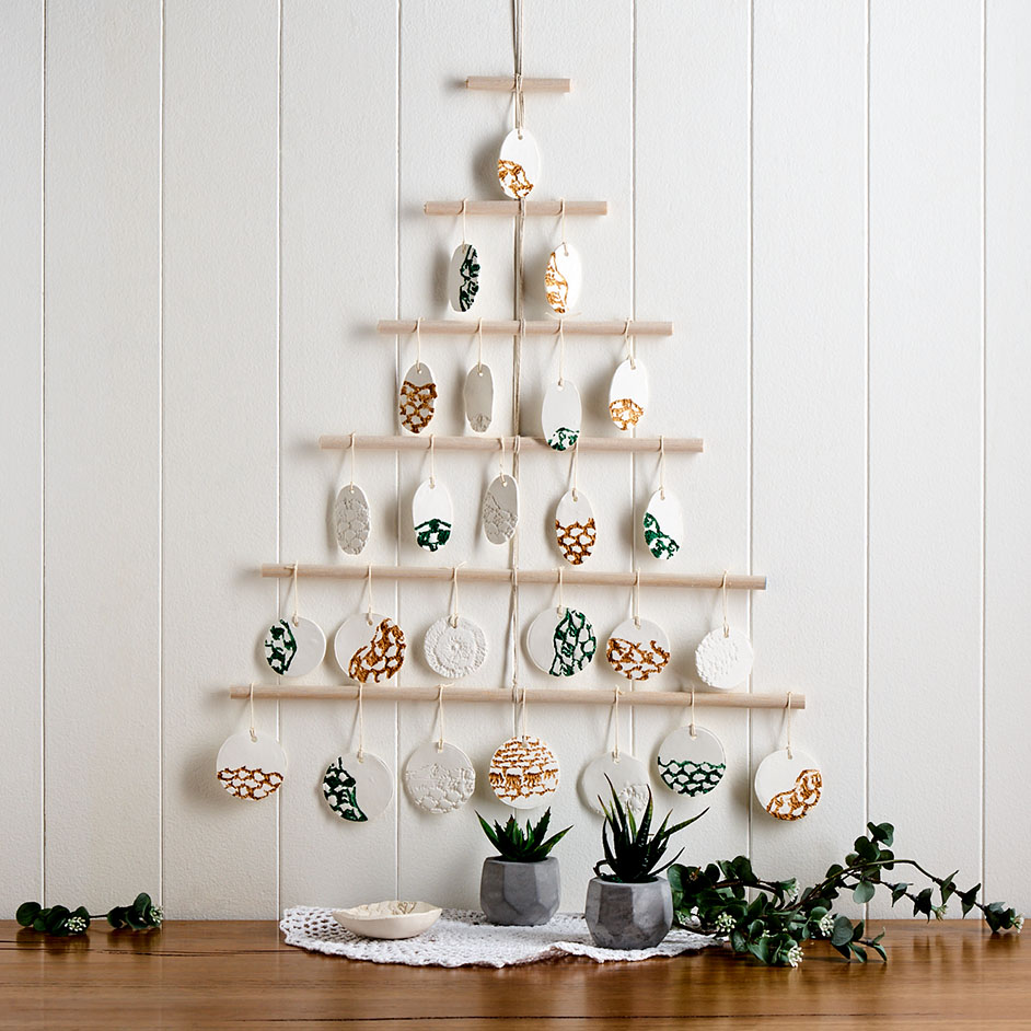 Sculpey Christmas Wall Hanging Project