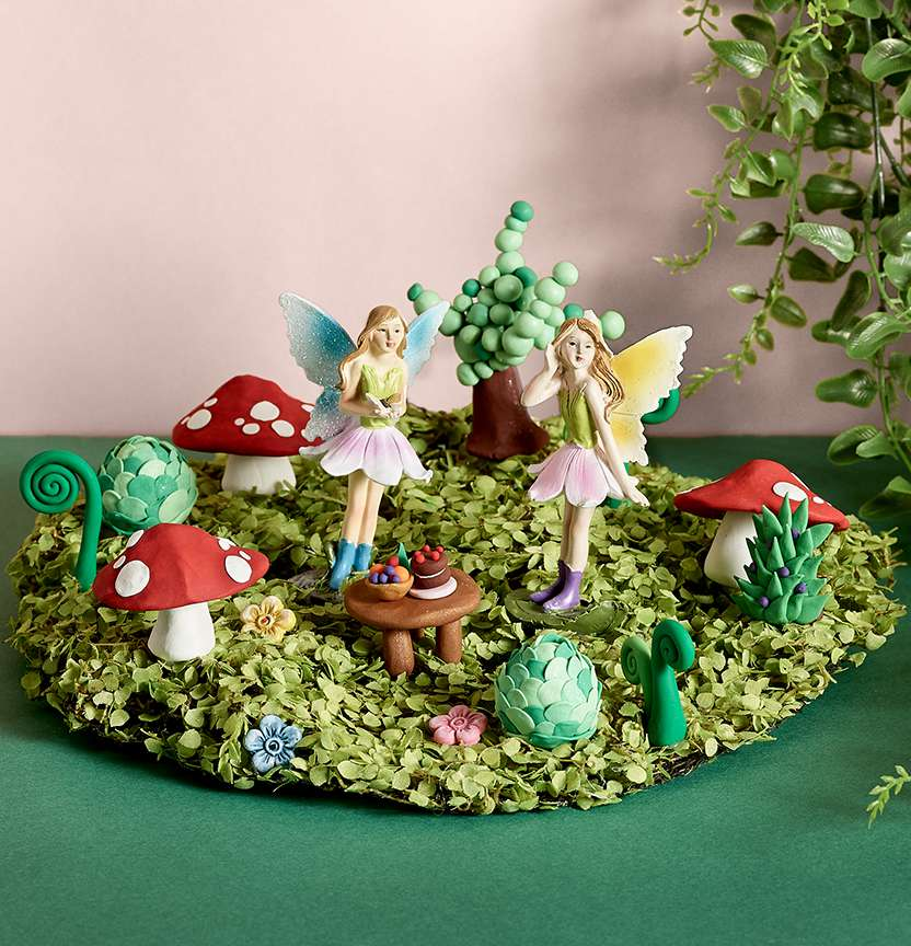 Sculpey Fairy Village Project