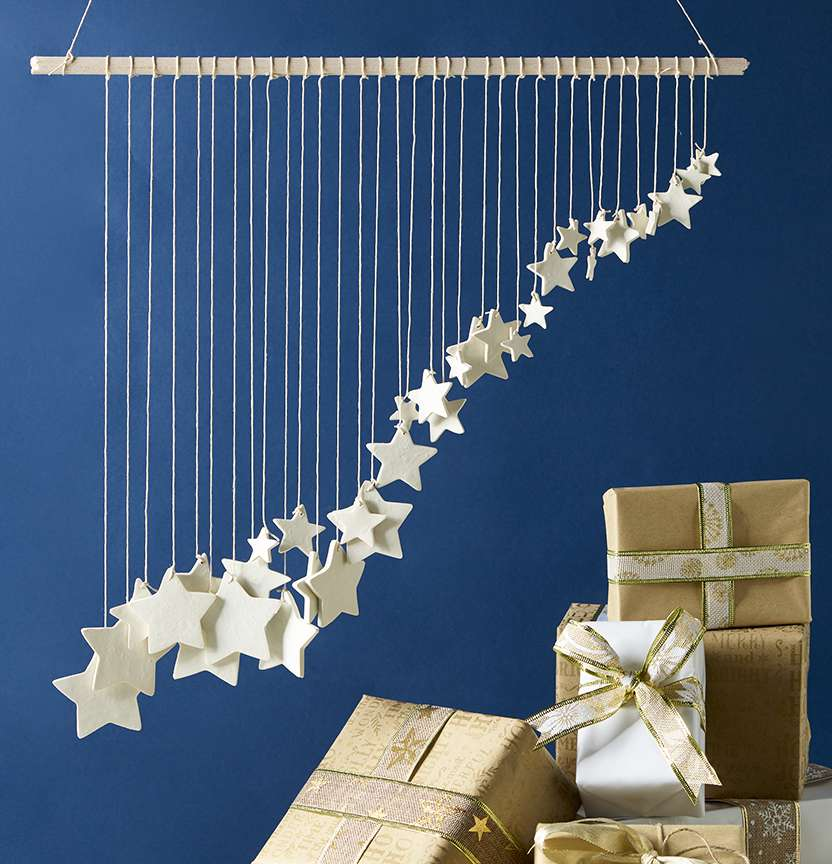 Sculpey Star Wall Hanging Project