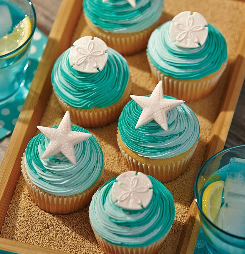 Sea Of Life Cupcakes Project