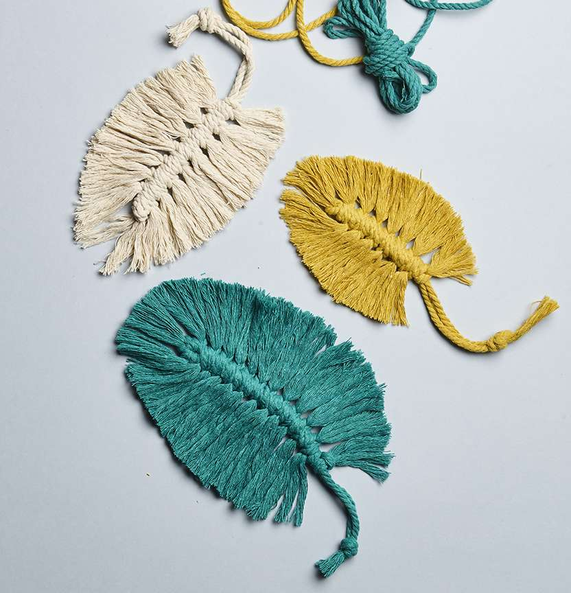 Semco Macrame Leaves Project