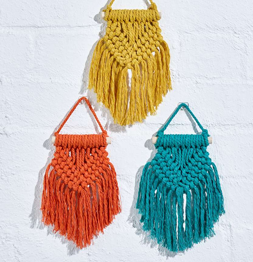 Semco Macrame Wall Hangings Project