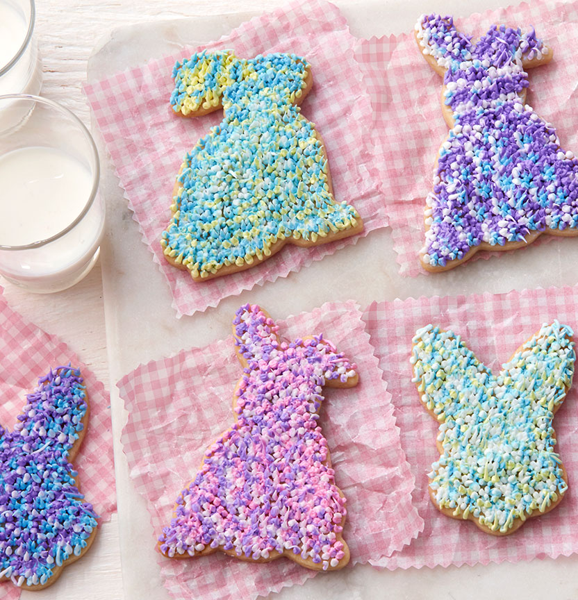 Shaggy Bunny Cookies Project