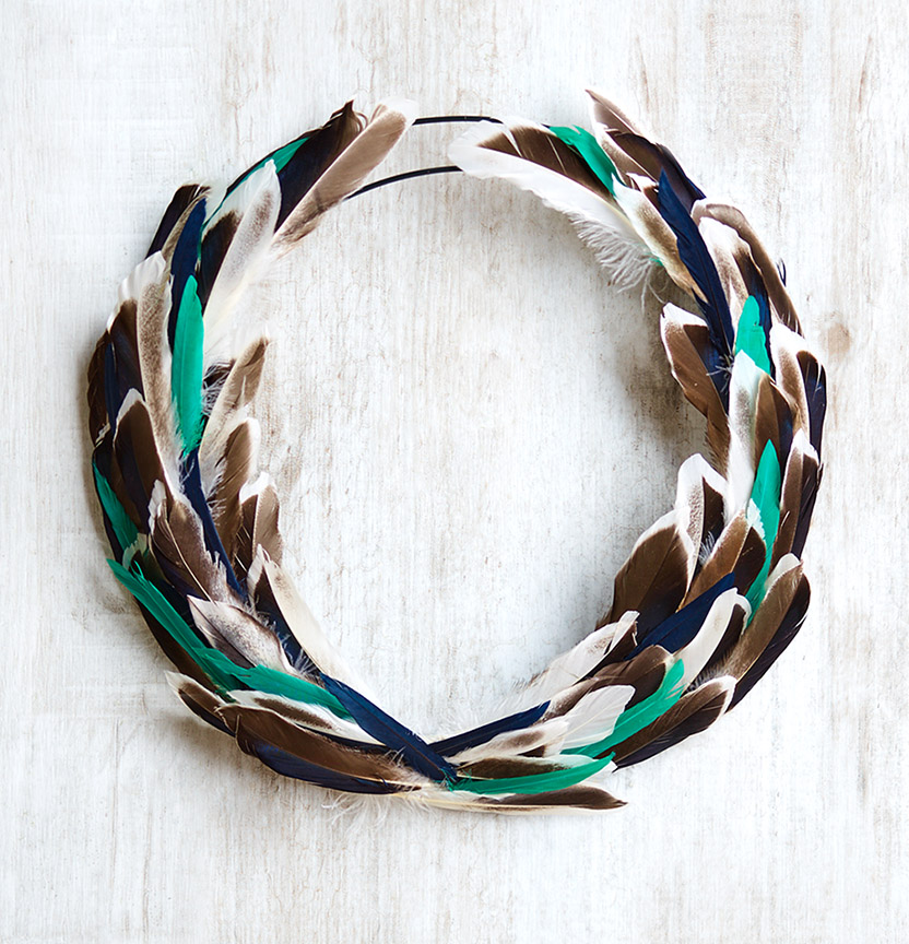 Shamrock Feathers Project