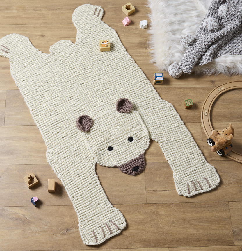 Shiver Bear Rug Project
