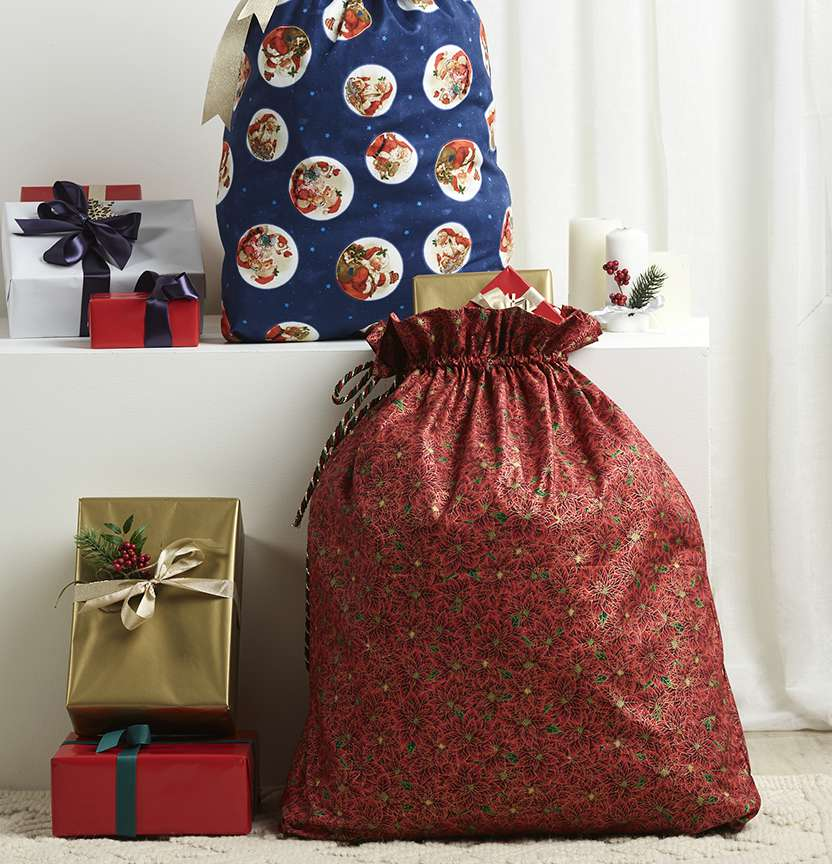 Simple Santa Sacks Project